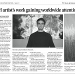 Article About Me In The Newspaper