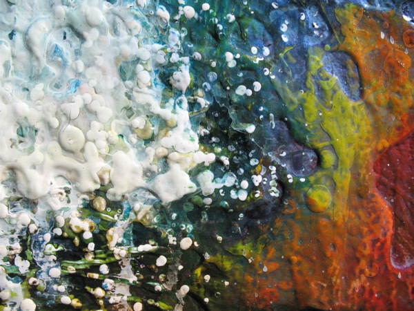 A particular passion with texture for Textured acrylic abstract paintings