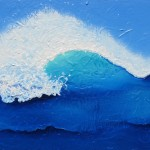 """Spiral Wave"" Seascape Painting Sold"