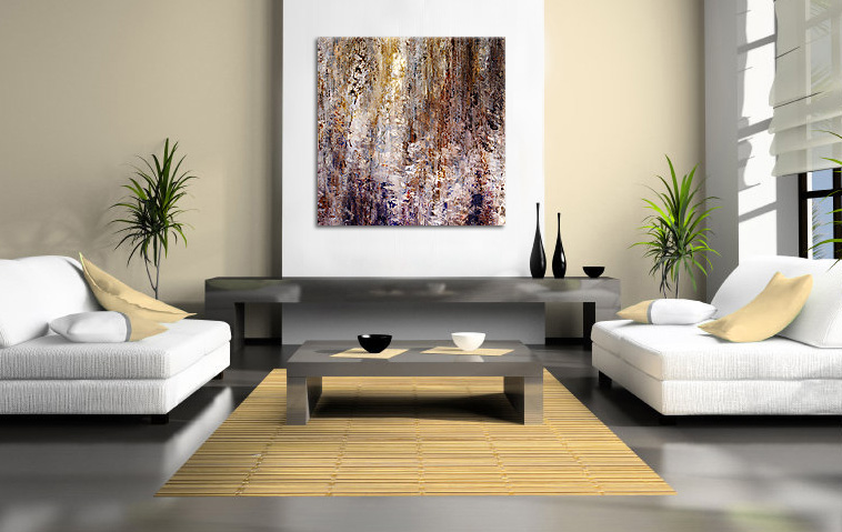 Abstract art canvas print modern painting