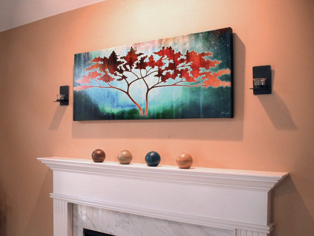 Modern Art For Home Abstract Tree Art Large Canvas