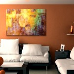 """Kingdom Within"" Abstract Canvas Art"