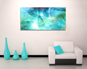 Abstract Canvas Art Print Modern Painting