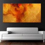"""Warm Embrace"" Modern Abstract Art Painting"