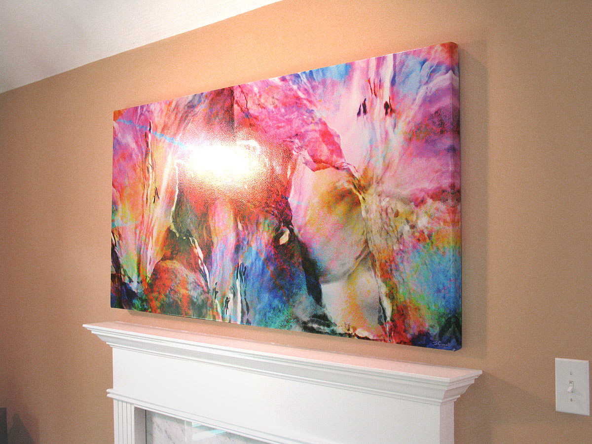 largeabstractcanvasartmodernartprintcianelli. buying  displaying art archives  cianelli studios art blog