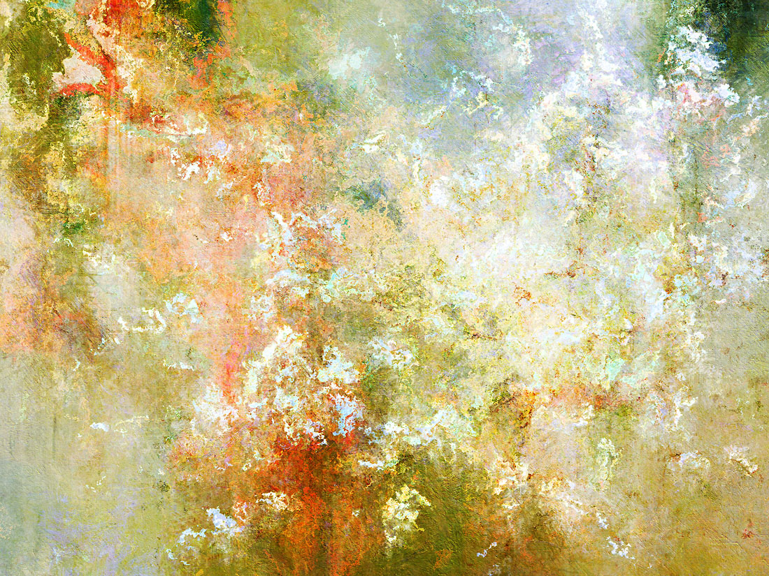 Enchanted blossoms abstract art for sale for Art print for sale