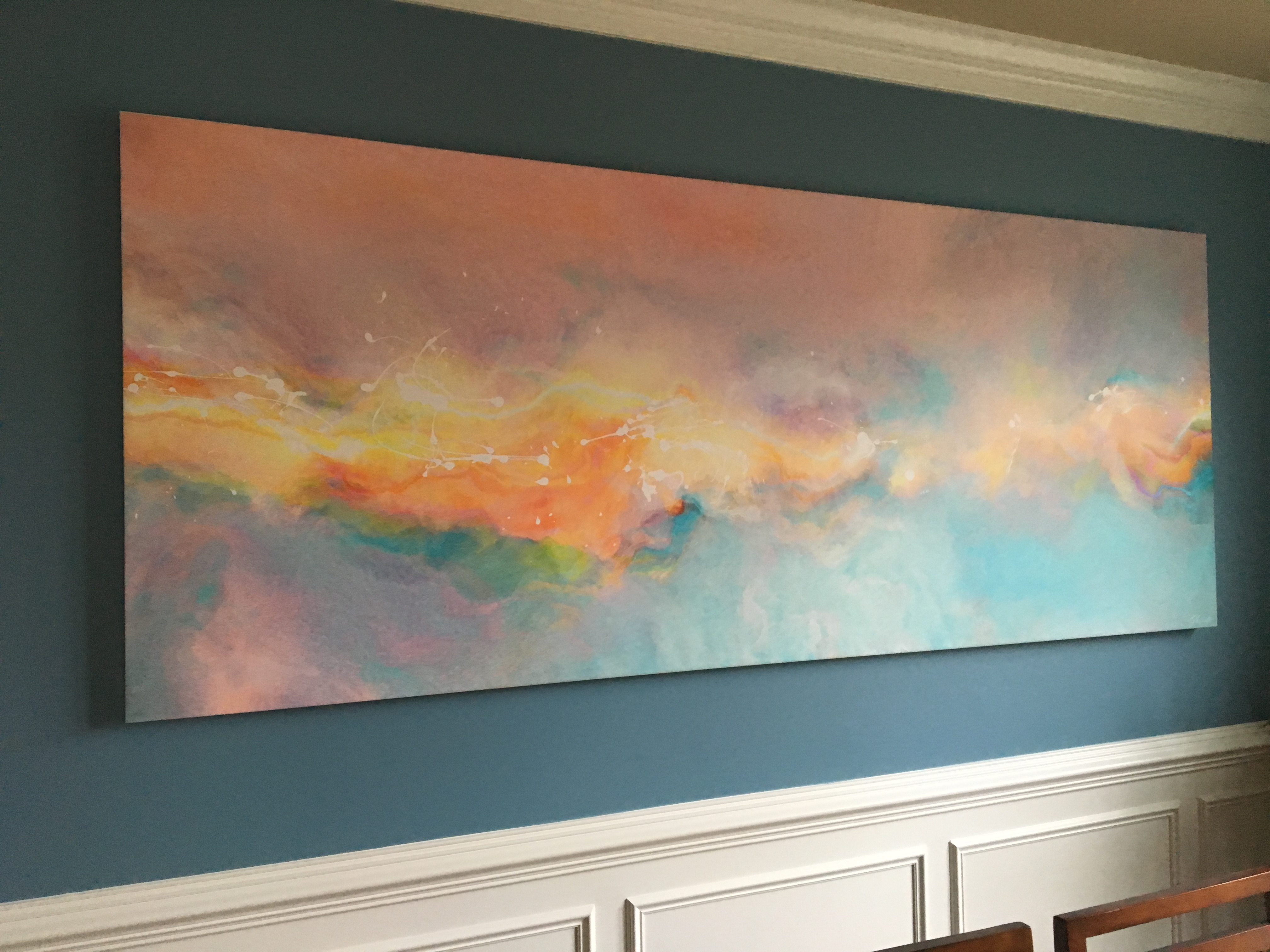Huge Abstract Canvas Art