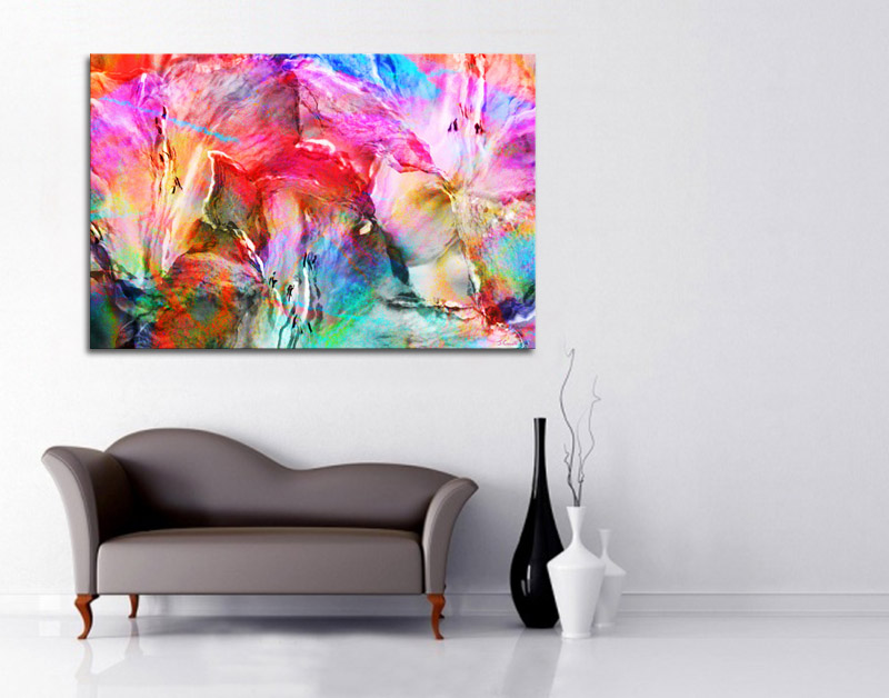 Modern Abstract Contemporary Art Interior Decor Color Part 80