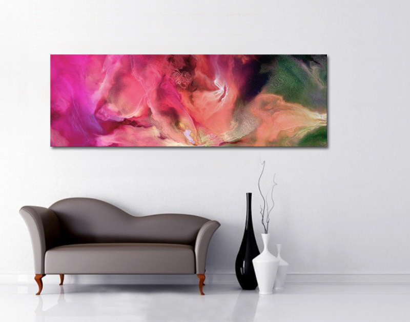 Sublime Abstract Art Unframed Canvas
