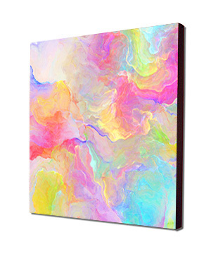 Large Abstract Art, Abstract Energy Art, Abstract Canvas Print