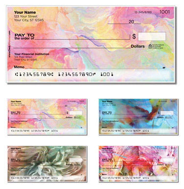 Personalized Checks, Art Checks, Artistic Checks