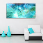 Large Abstract Art Canvas Painting For Sale