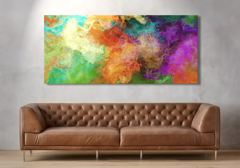 Large Abstract Art Paintings For Purchase Modern And Vibrant By Artist Jaison Cianelli