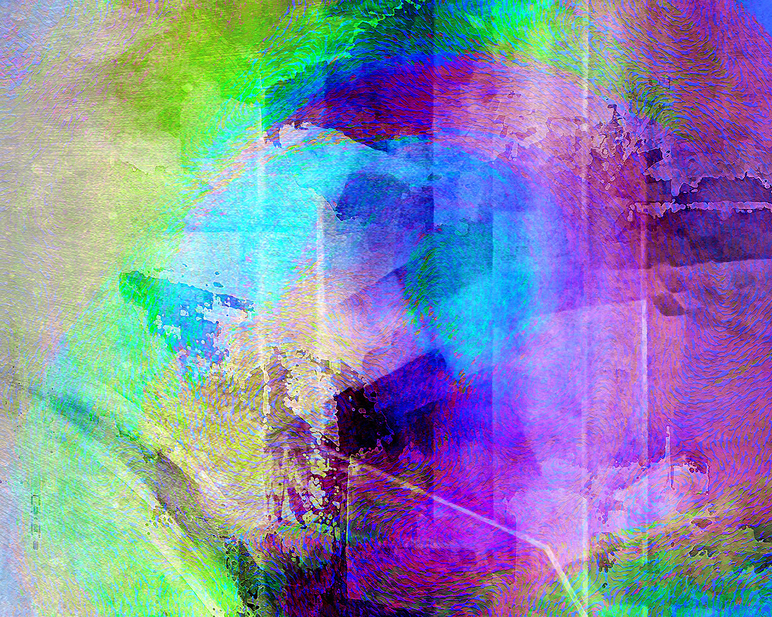 Abstract Art Music In The