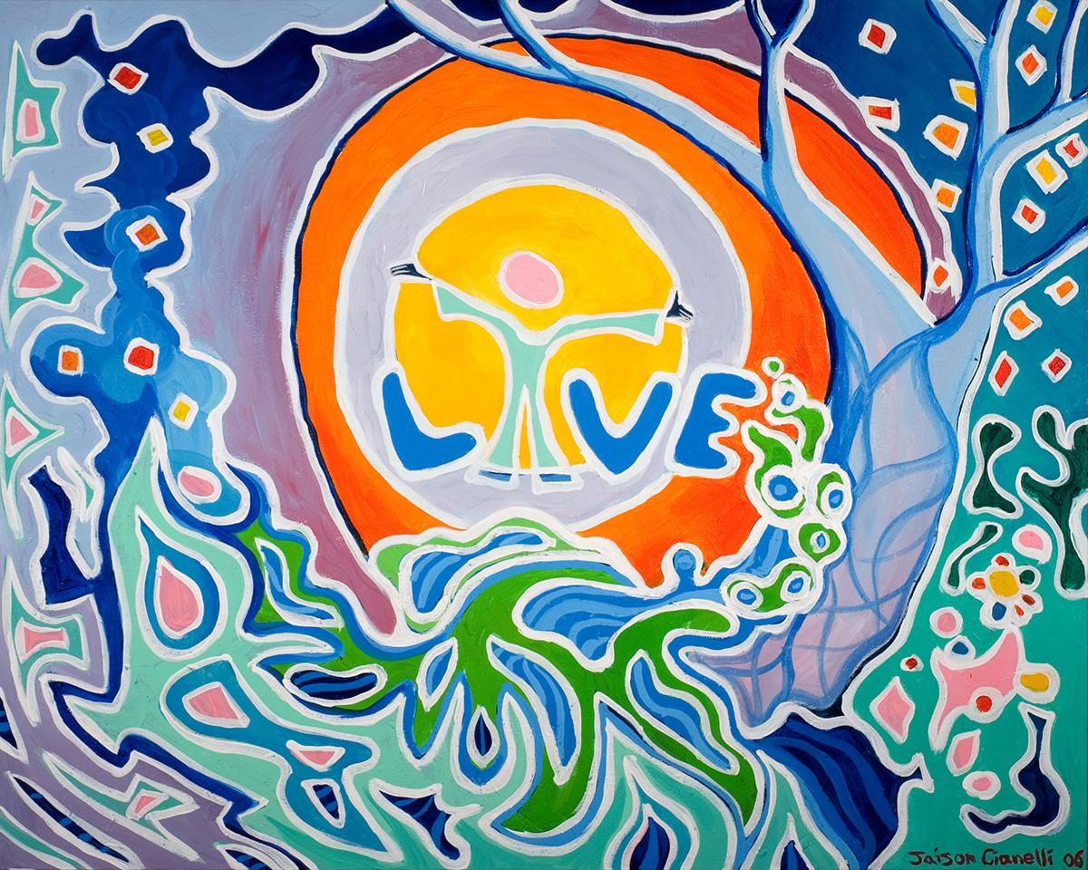 Cianelli studios word art paintings inspirational for Inspirational paintings abstract